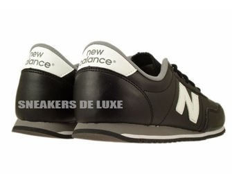 U396SKW New Balance Black / White