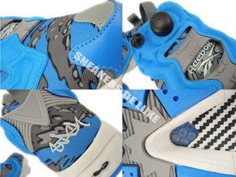 V61559 Reebok X Stash Insta Pump Fury OG Cycle Blue/Grey/Steel/Grey