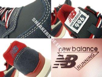 WR996CNR New Balance Navy / Red