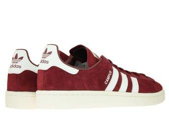 adidas Campus BZ0087 Collegiate Burgundy/Ftwr White/Chalk White